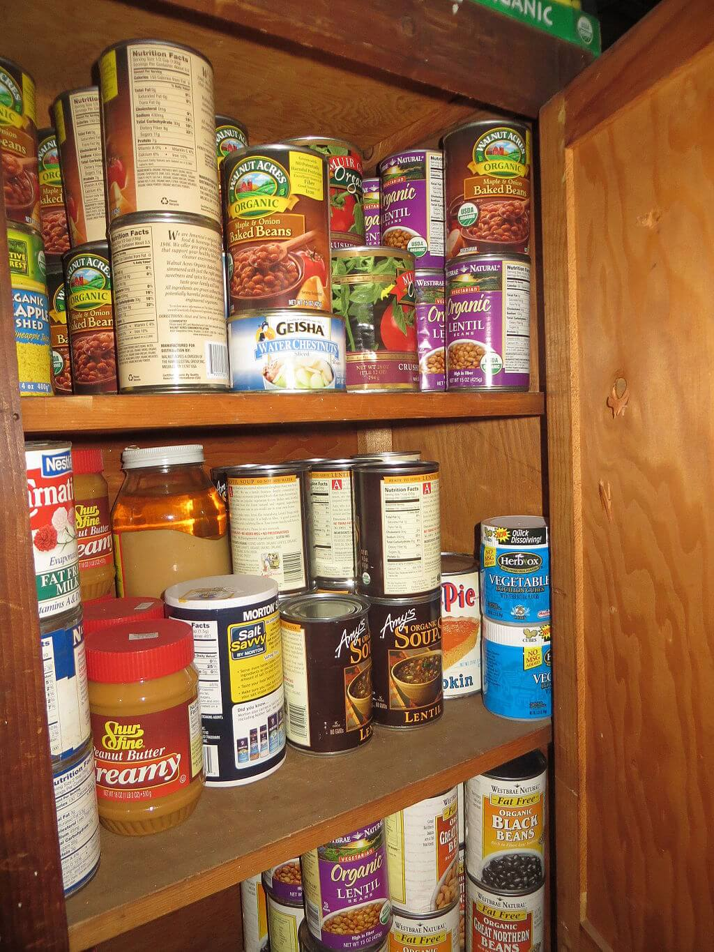 food storage preppers